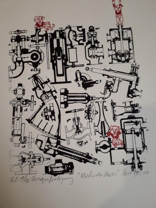 Seriegrafi nr. 1. 30x42 cm.